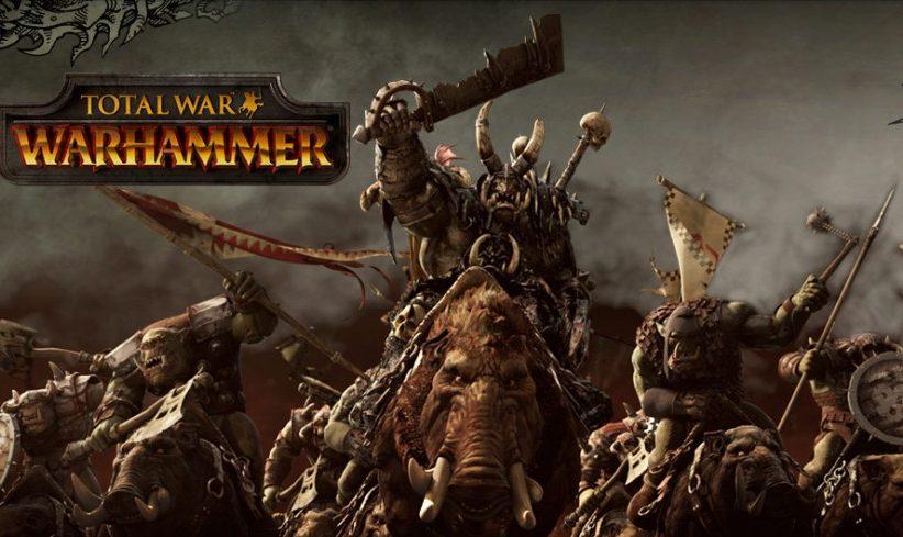 شاهد سبعة عشر دقيقة من اللعبة المنتظرة  Total War: Warhammer