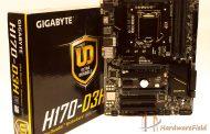 مراجعة اللوحة الرئيسية Gigabyte H170-D3H