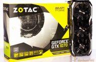 مراجعة البطاقة الرسومية Zotac GTX 1070 AMP Extreme