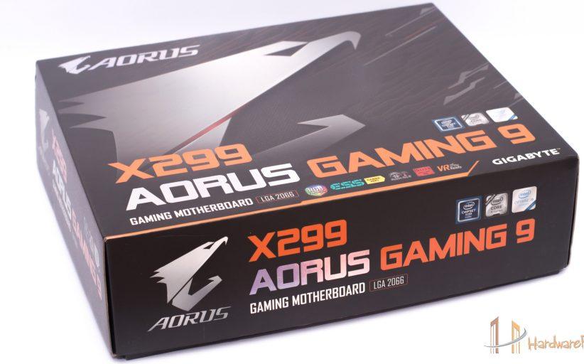 مراجعة اللوحة Aorus X299 Gaming 9 من جيجابايت