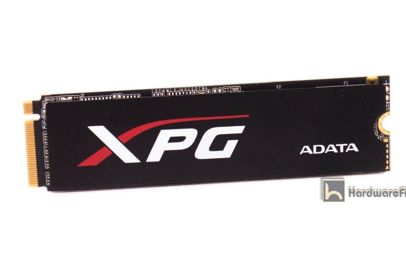 مراجعة ADATA XPG SX8000 NVMe 256GB SSD.