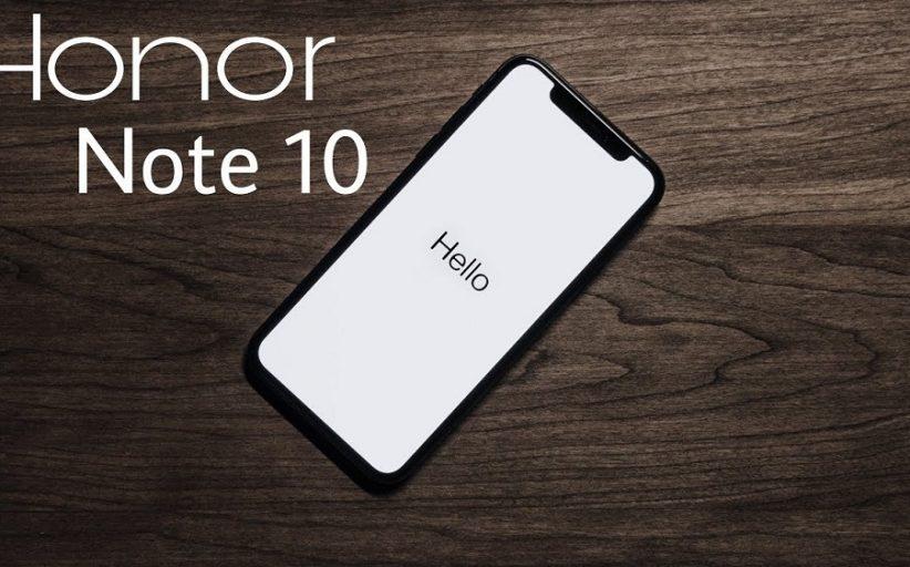 المواصفات التقنية للهاتف الجديد Honor Note 10