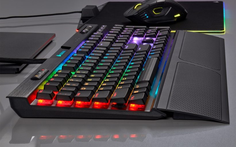 تقديم جديد K70 RGB MK.2 LOW PROFILE لوحات المفاتيح من CORSAIR منخفضة الارتفاع