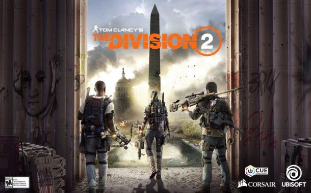 شراكة بين Corsair و Ubisoft لتضىء لعبة Tom Clancy's The Division 2